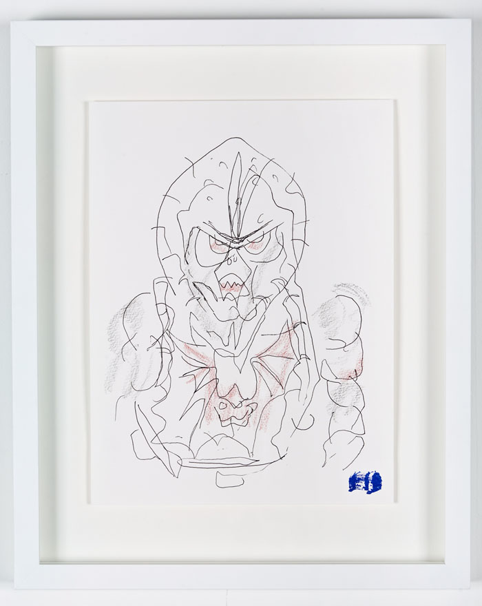 Blind Contour Drawing - Hordak
