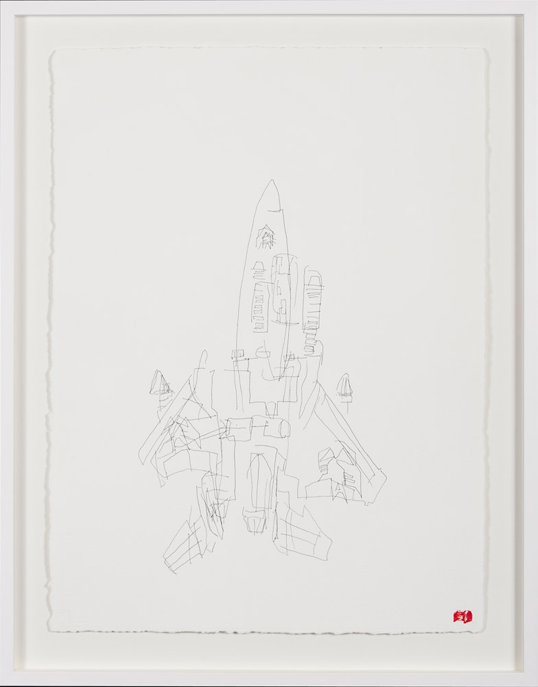 Blind Contour Drawing - Starscream