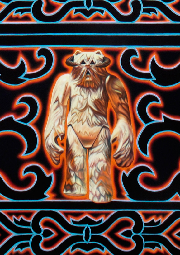 Birth of a Jedi - Wampa Detail